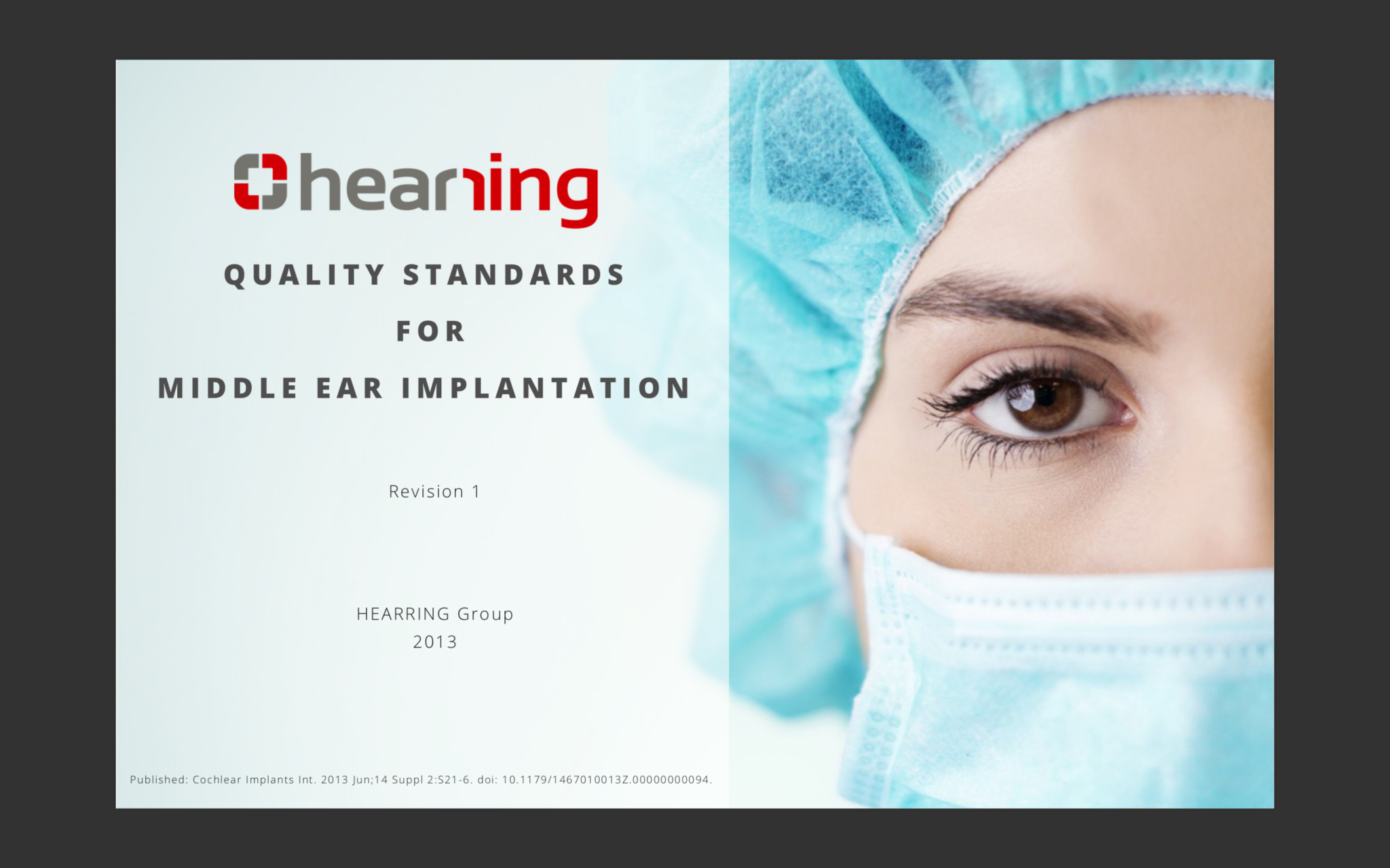Middle Ear Implantation Quality Standards Hearring