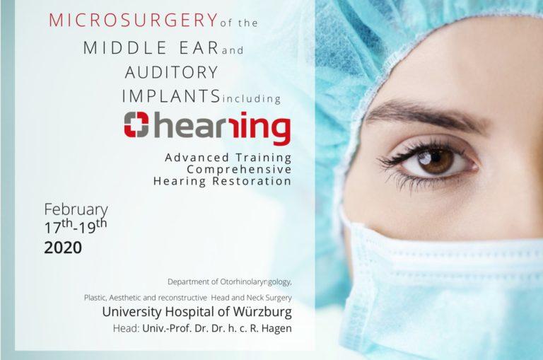 Wuerzburg invitation Hearring events